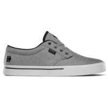 ETNIES JAMESON 2 ECO SHOES BLACK CHARCOAL SILVER