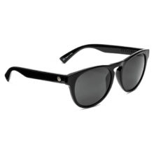 ELECTRIC NASHVILLE XL SUNGLASSES GLOSS BLACK OHM GREY