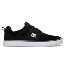 DC HEATHROW VULC SHOES BLACK WHITE