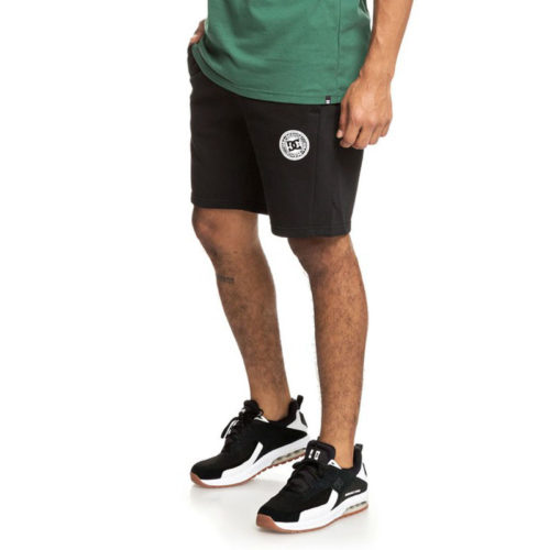 DC REBEL SWEAT SHORTS BLACK
