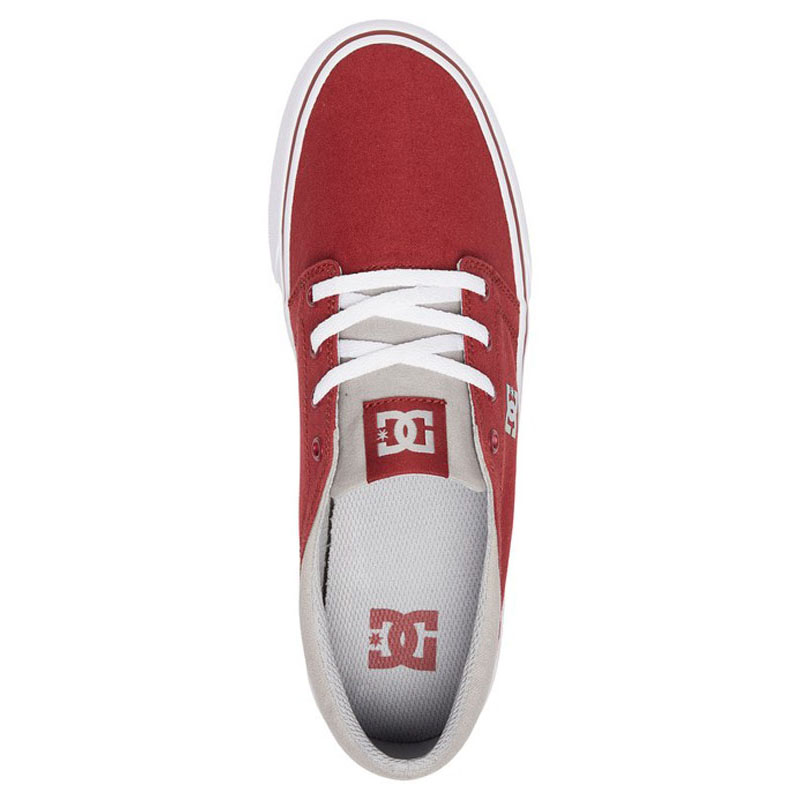DC TRASE TX SHOES DARK RED