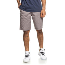 DC WORKER HEATHER CHINO SHORTS GREY HEATHER