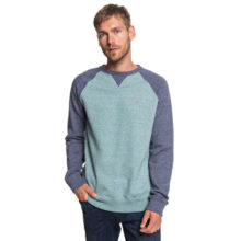 QUIKSILVER EVERYDAY SWEATSHIRT STORMY SEA HEATHER