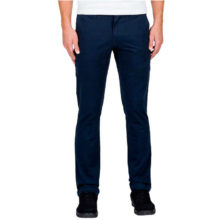 VOLCOM FRICKIN SLIM CHINO PANTS NAVY