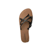VOLCOM NEW SCHOOL SANDALS BLACK