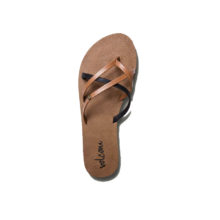 VOLCOM NEW SCHOOL SANDALS BROWN COMBO