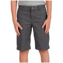 VOLCOM FRICKIN MODERN STRECH CHINO SHORTS CHARCOAL HEATHER