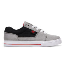 DC TONIK TX YOUTH SHOES GREY BLACK RED