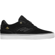 EMERICA THE REYNOLDS LOW VULC SHOES BLACK GOLD WHITE
