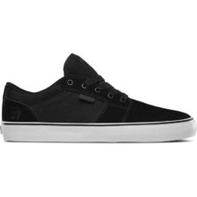 ETNIES BARGE LS SHOES BLACK WHITE BLACK