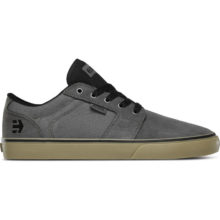 ETNIES BARGE LS SHOES GREY BLACK GUM