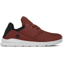 ETNIES LOOKOUT SHOES RED BLACK