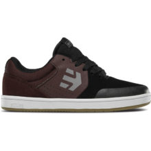 ETNIES MARANA KIDS SHOES MAROON BLACK WHITE