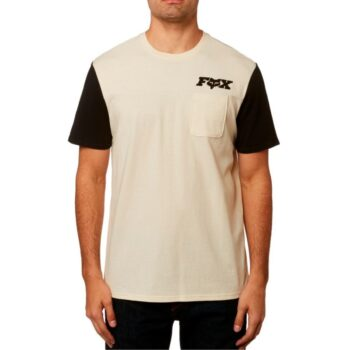 FOX BRIGGS CREW T-SHIRT BONE