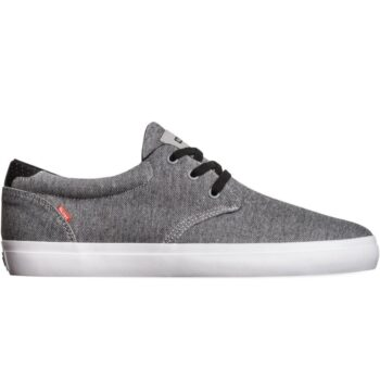 GLOBE WINSLOW SHOES GREY FLECK TWILL