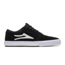 LAKAI GRIFFIN SHOES BLACK SUEDE