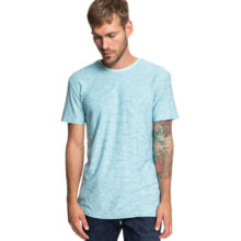 QUIKSILVER KEN TIN T-SHIRT AQUA SPLASH