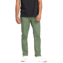 VOLCOM FRICKIN MODERN STRECH CHINO PANTS FADED ARMY