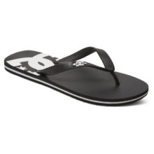 DC SPRAY SANDALS BLACK BLACK WHITE