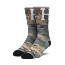 HUF CLASSIC H DIGITAL SOCKS LODEN
