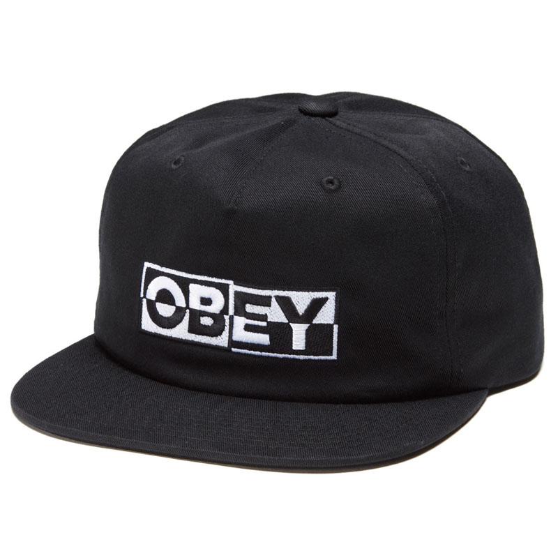 OBEY IMPACT SNAPBACK BLACK