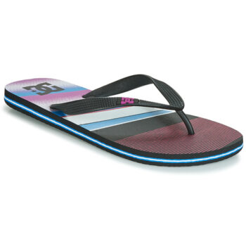 DC SPRAY GRAFFIK SANDALS BLACK PINK BLUE