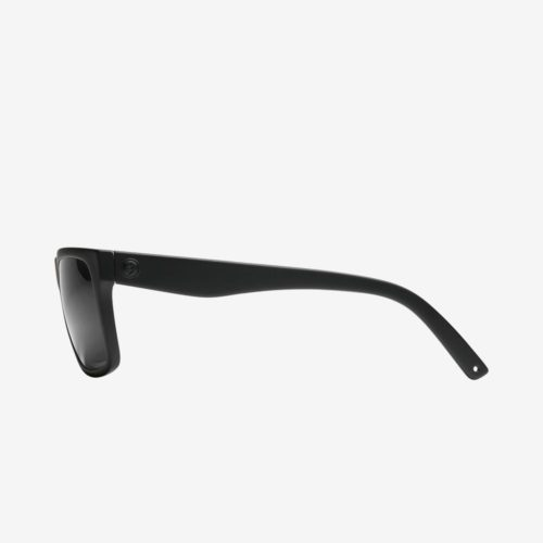 ELECTRIC SWINGARM SPORT SUNGLASSES MATTE BLACK GREY POLARIZED
