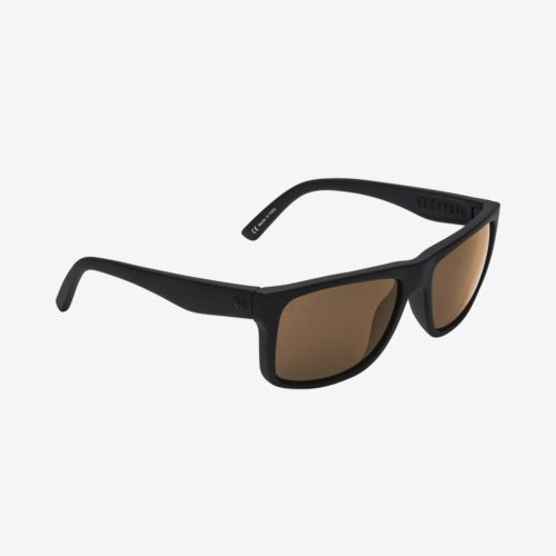 ELECTRIC SWINGARM SUNGLASSES MATTE BLACK BRONZE POLARIZED