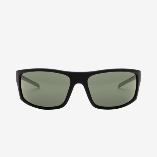ELECTRIC TECH ONE SUNGLASSES MATTE BLACK GREY POLARIZED