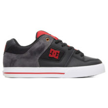 DC PURE SE SHOES BLACK RED