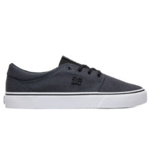 DC TRASE TX SE SHOES GREY BLACK BLACK