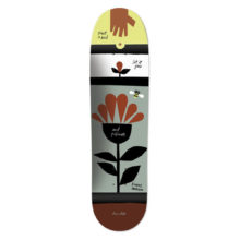 CHOCOLATE ANDERSON X CONVERSE SKATE DECK 8.5X31.7