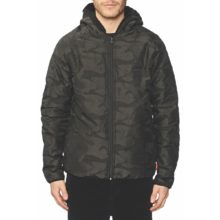 GLOBE FIELDER JACKET BLACK POLARTEC