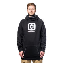 HORSEFEATHERS SHERMAN LONG HOODIE BLACK