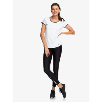 ROXY BRAVE FOR YOU SPORT LEGGINGS TRUE BLACK