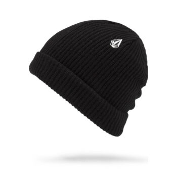 VOLCOM SWEEP LINED BEANIE BLACK