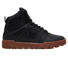 DC PURE HIGH TOP WR BOOT BLACK GUM