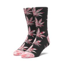 HUF MELANGE LEAVES PLANTLIFE SOCK BLACK