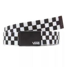 VANS DEPPSTER WEB BELT BLACK WHITE