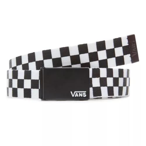 VANS DEPPSTER II WEB BELT BLACK WHITE