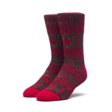 HUF FAIR ISLE SOCK RED