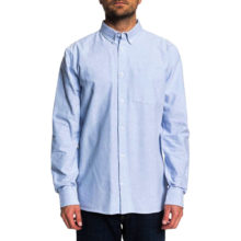 DC THE OXFORD LONG SLEEVE SHIRT LIGHT BLUE
