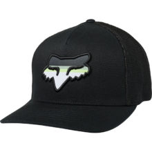 FOX HEAD STRIKE FLEXFIT HAT BLACK