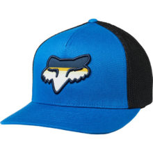 FOX HEAD STRIKE FLEXFIT HAT ROYAL BLUE