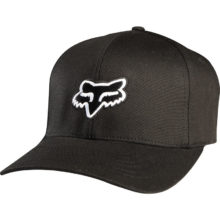 FOX LEGACY FLEXFIT HAT BLACK