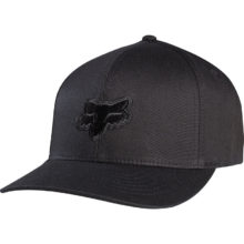 FOX LEGACY FLEXFIT HAT BLACK BLACK