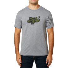 FOX PREDATOR TECH T-SHIRT HEATHER GRAPHITE