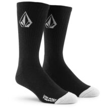 VOLCOM FULL STONE 3PK SOCK BLACK