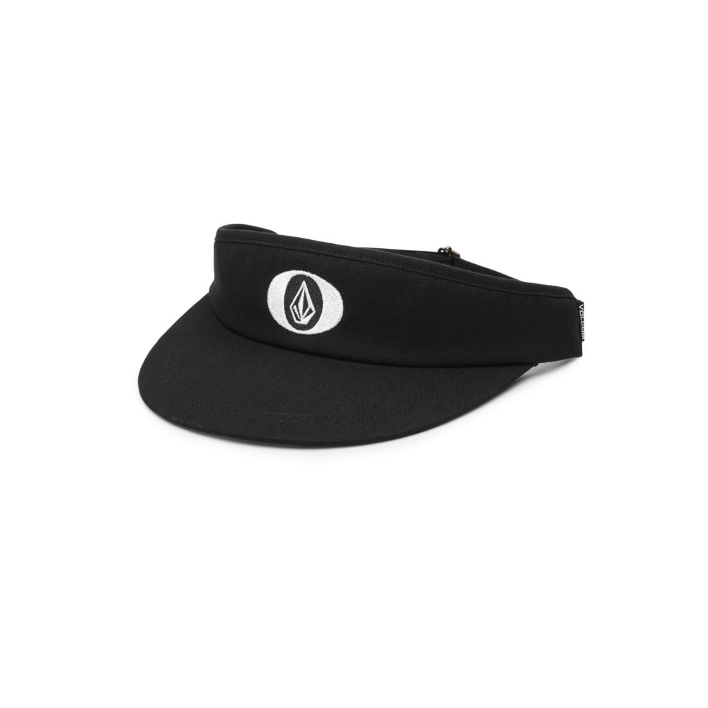 VOLCOM STONE O VISOR CAP BLACK