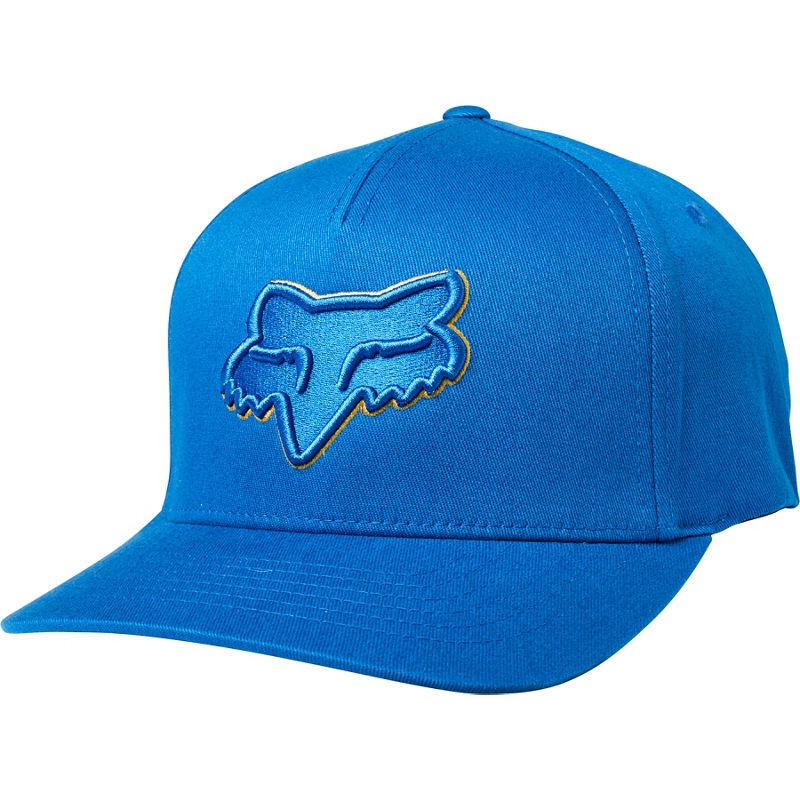 FOX EPICYCLE FLEXFIT HAT ROYAL BLUE